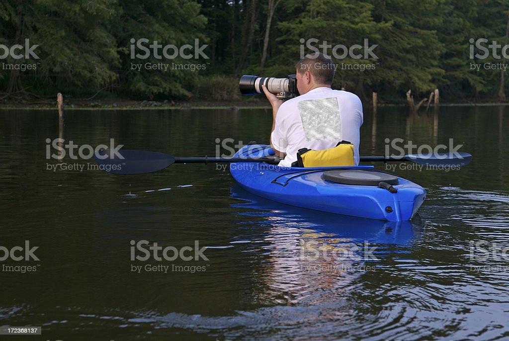Wildlife Photographer royalty-free stock photo