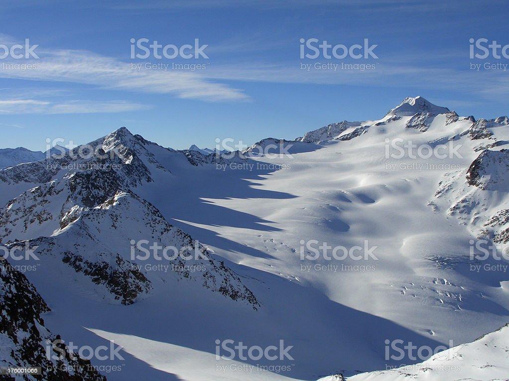 Wildspitze Tirol royalty-free stock photo