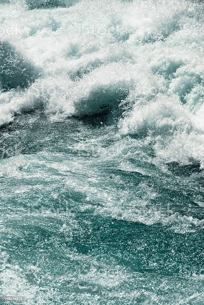 Wildwasser stock photo