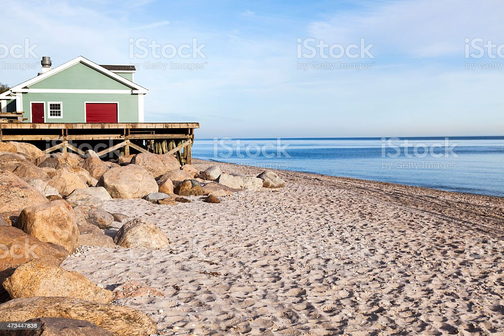 Wildwood Beach stock photo