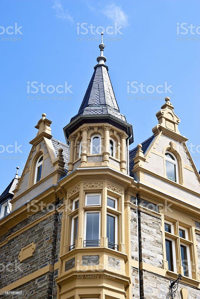 Wilhelminian Mansion royalty-free stock photo