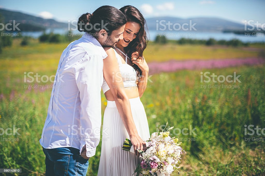 I will be forever yours stock photo