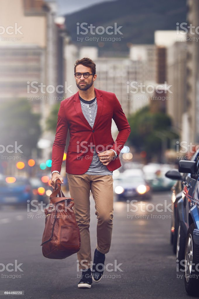 I will get there one way or another stock photo