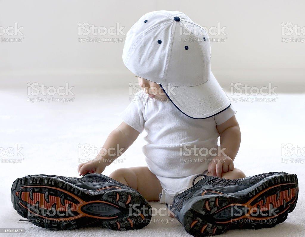 I will grow up stock photo