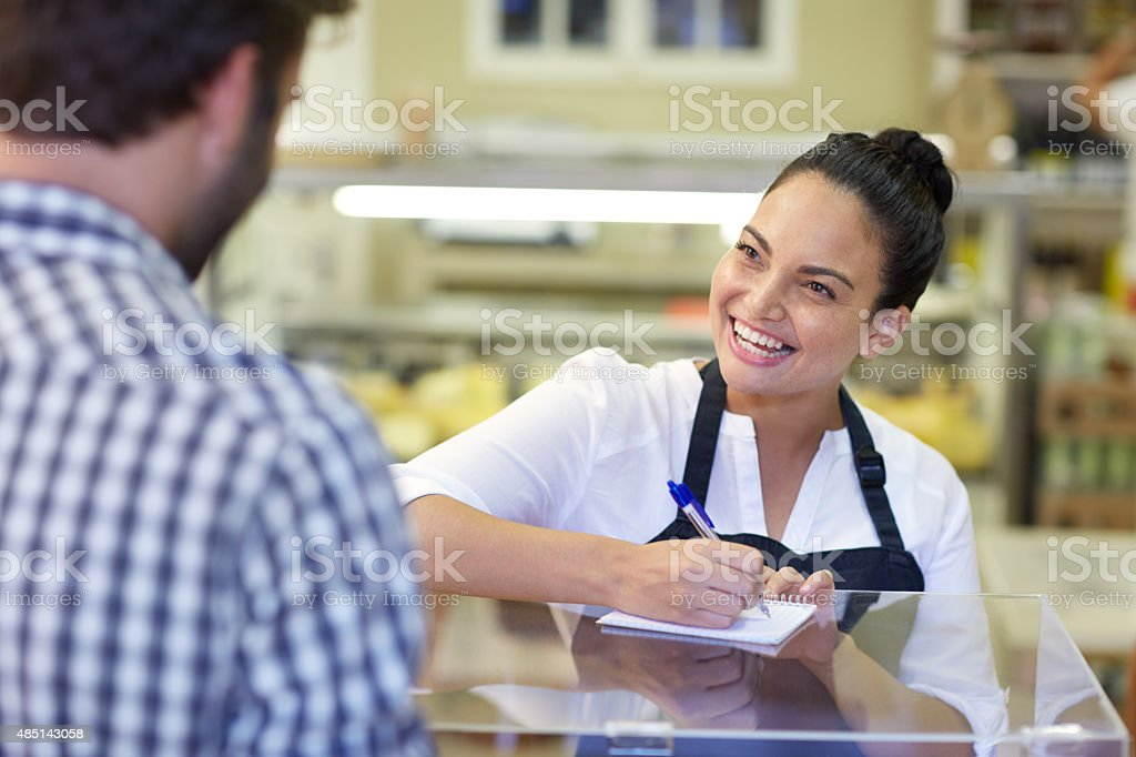 Will it be the usual for you? stock photo