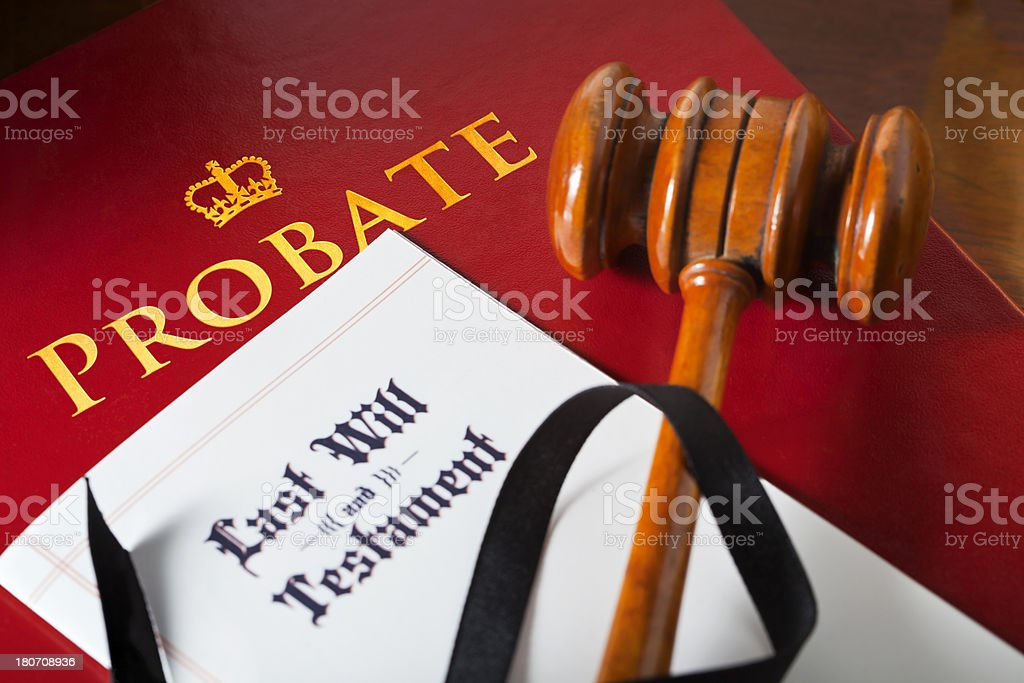 Will Probate stock photo