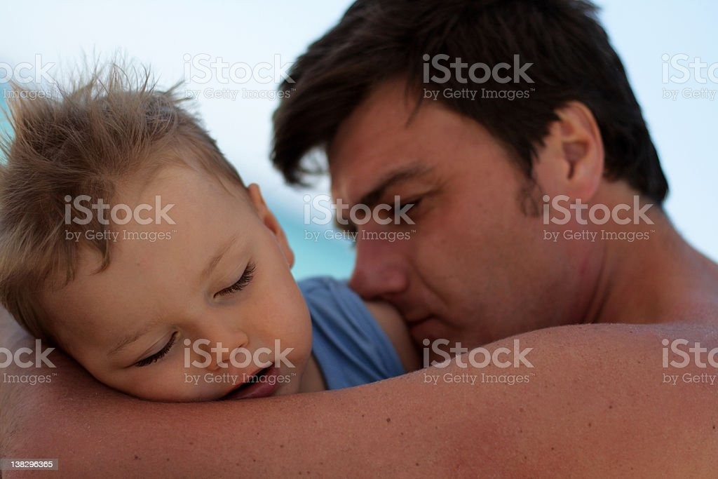I will protect you royalty-free stock photo