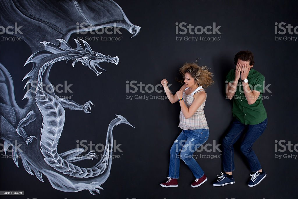 I will protect you stock photo