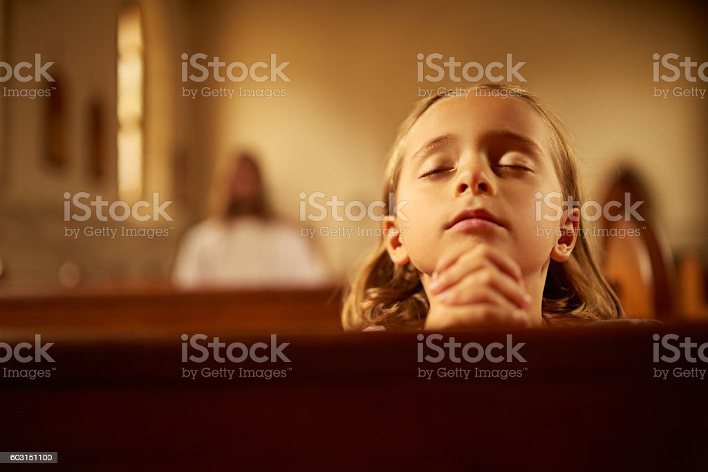 I will watch over you wherever you go stock photo