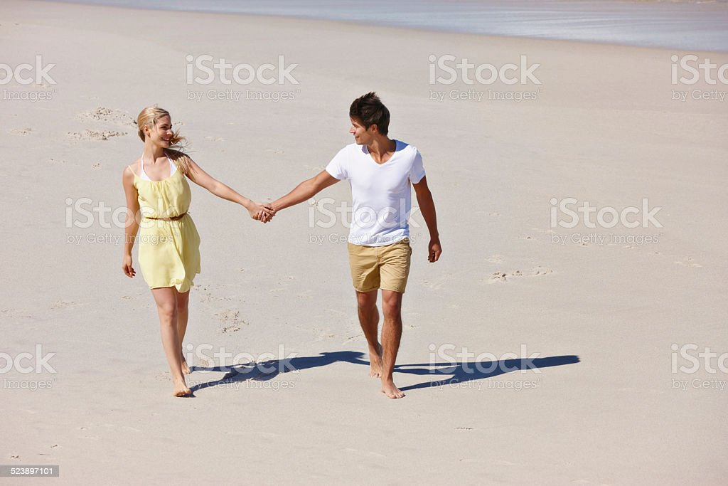 Will you be my summer love? stock photo