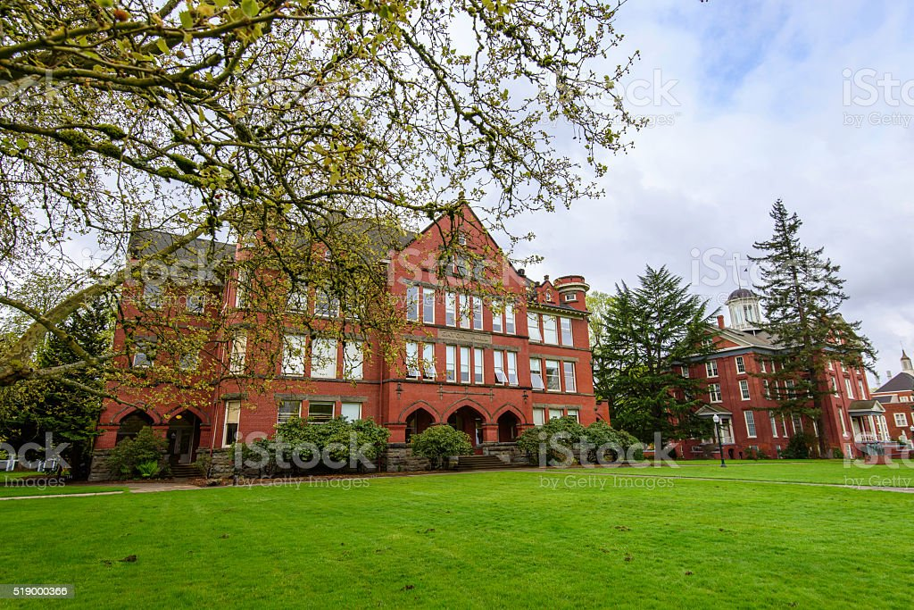 Willamette University Salem Oregon USA stock photo