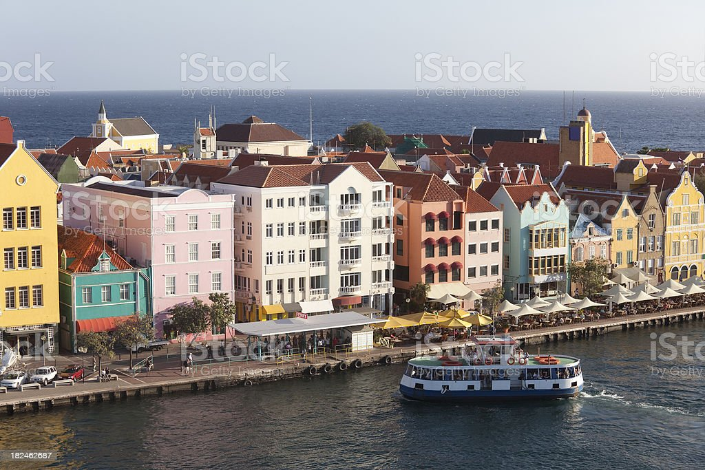 Willemstad, Cuacao stock photo