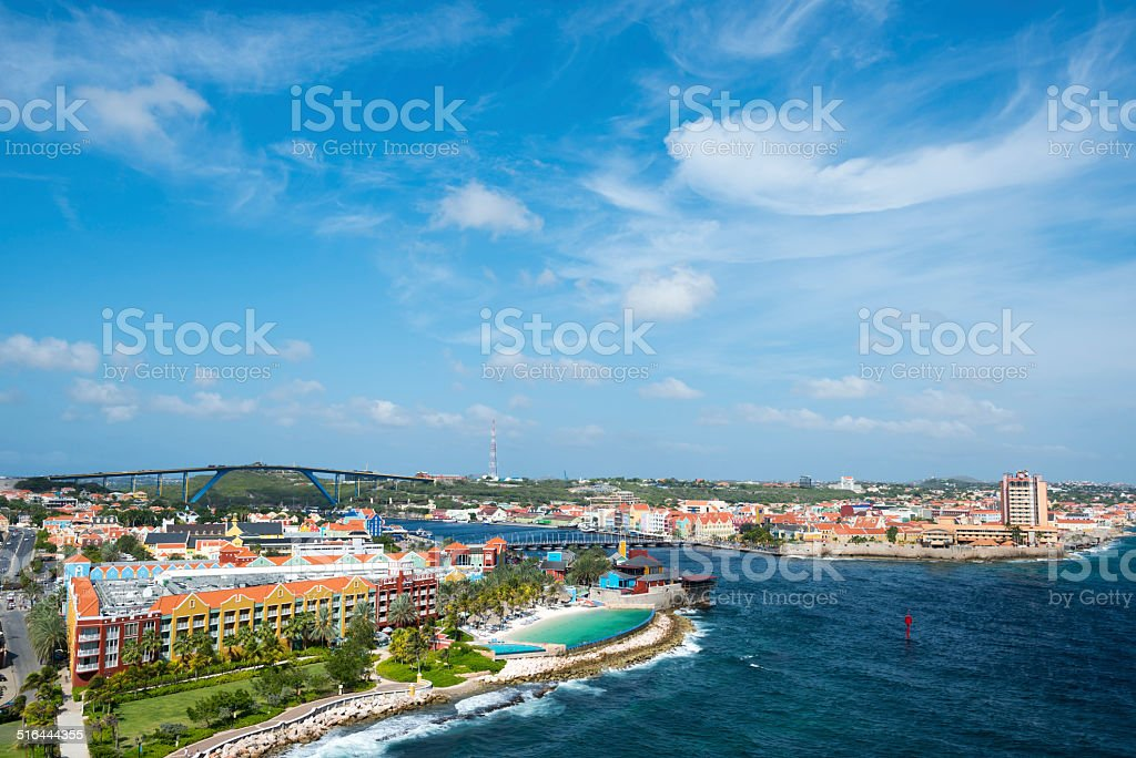 Willemstad, Curaçao stock photo