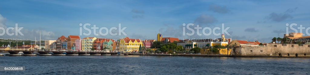 Willemstad Curaçao stock photo