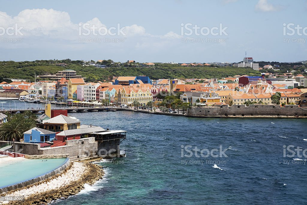 'Willemstad, Curacao' stock photo
