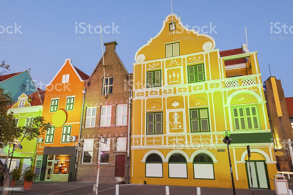 Willemstad, Curacao stock photo