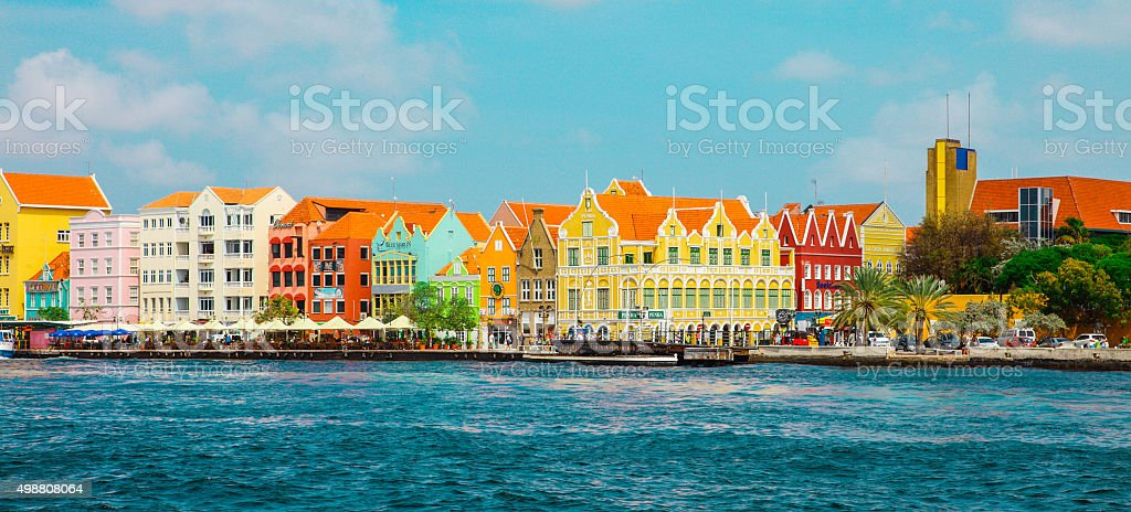 Willemstad, Curasao - Island in the southern Caribbean stock photo