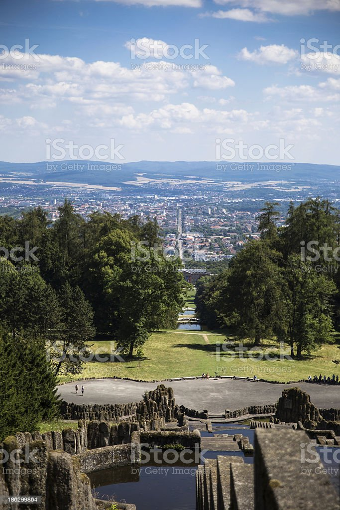 Willhelmshohe in Kassel stock photo