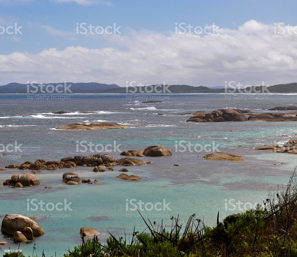 William Bay National Park: Great Southern Ocean stock photo