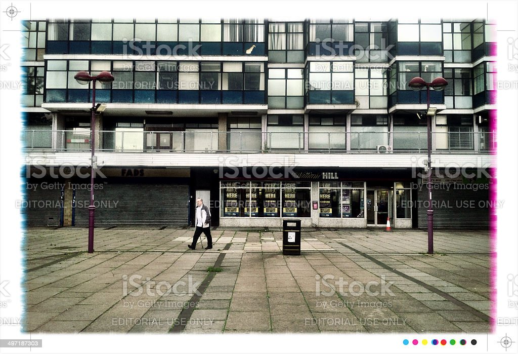 William Hill betting shop, London royalty-free stock photo