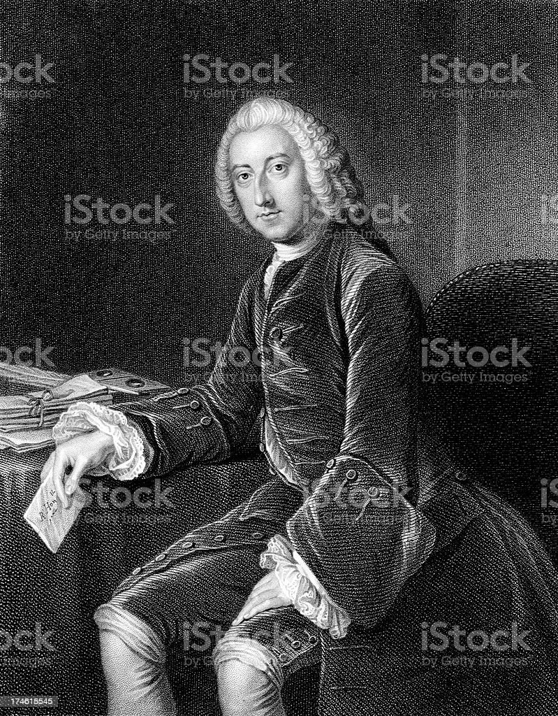 William Pitt, 1st Earl of Chatham stock photo