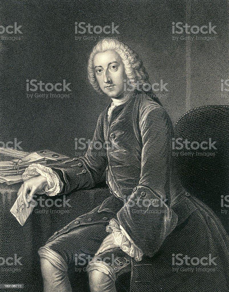 William Pitt (XXXL) stock photo