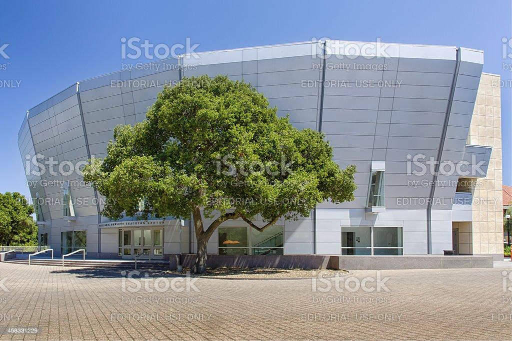 William R. Hewlett Teaching Center at Stanford University stock photo