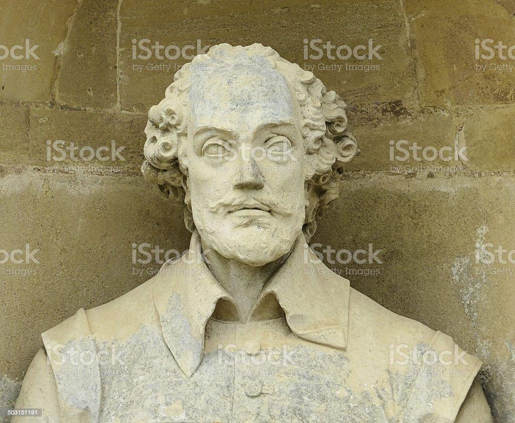 William Shakespeare 1564-1616 stock photo