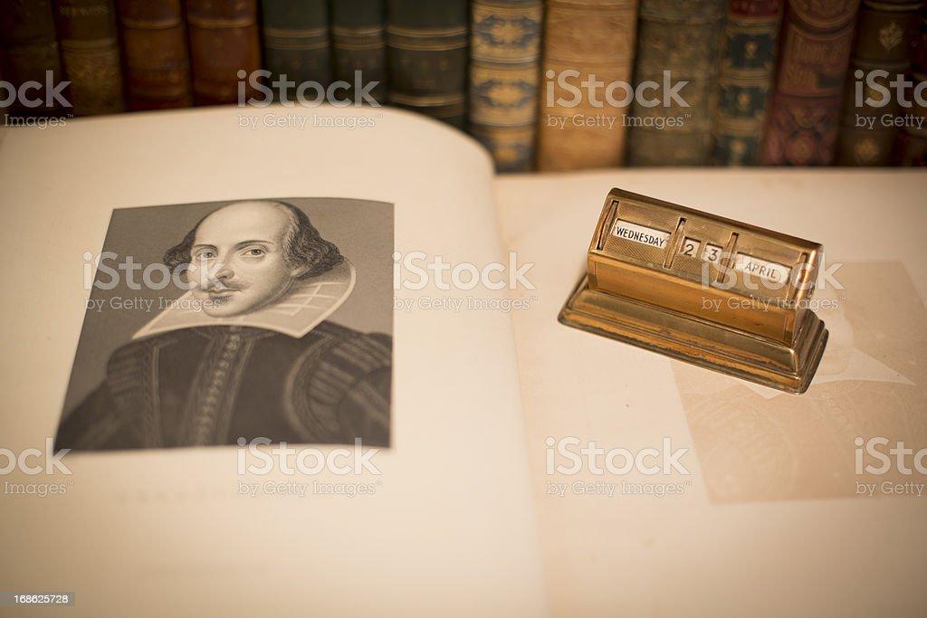 William Shakespeare Birthday 2014 royalty-free stock photo