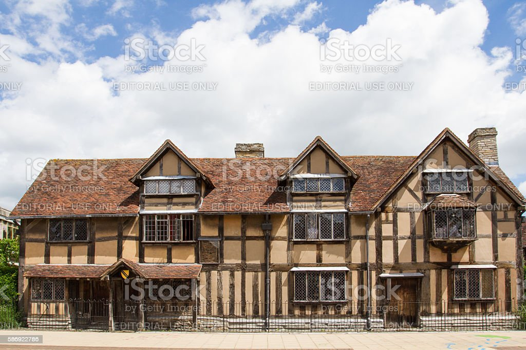 William Shakespeare's Birthplace stock photo