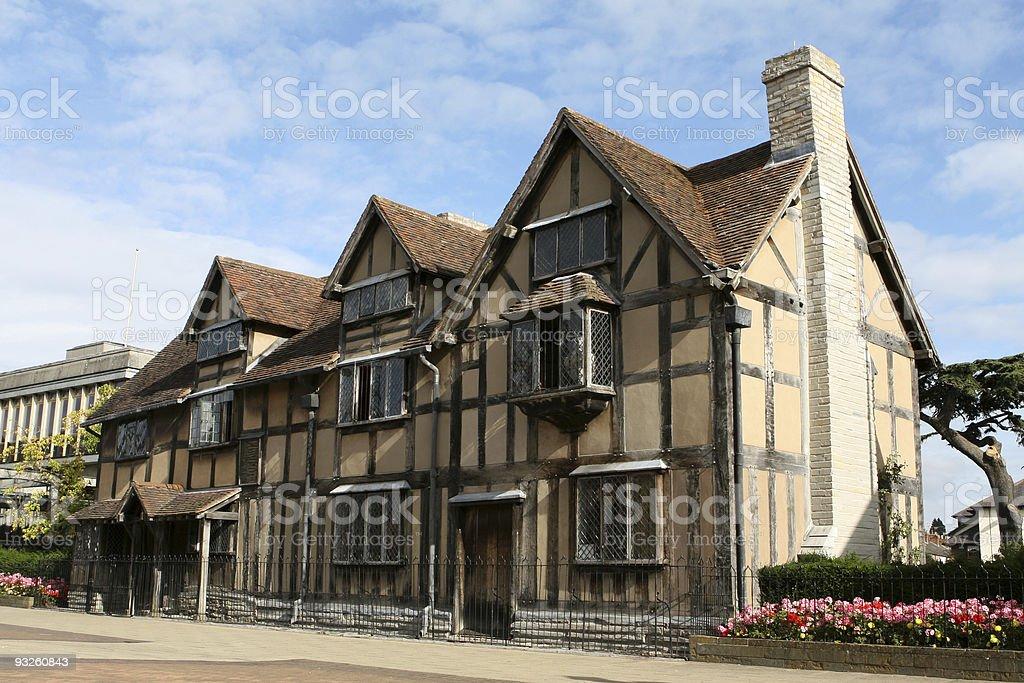 William Shakespeare's Birthplace, Stratford upon Avon stock photo