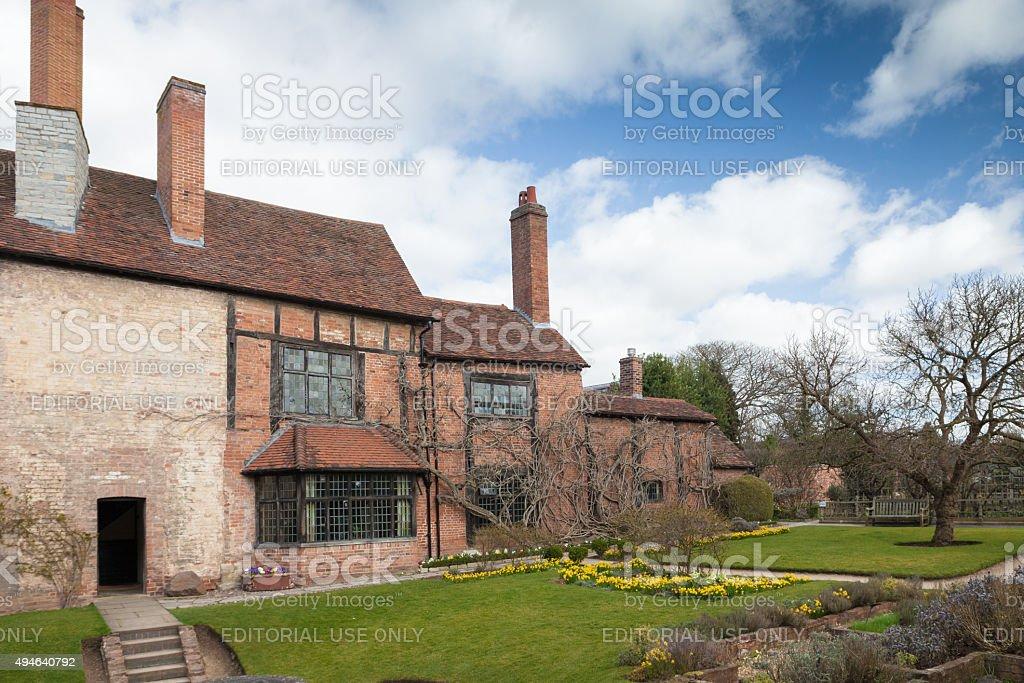 William Shakespeare's House, Stratford upon Avon, UK stock photo