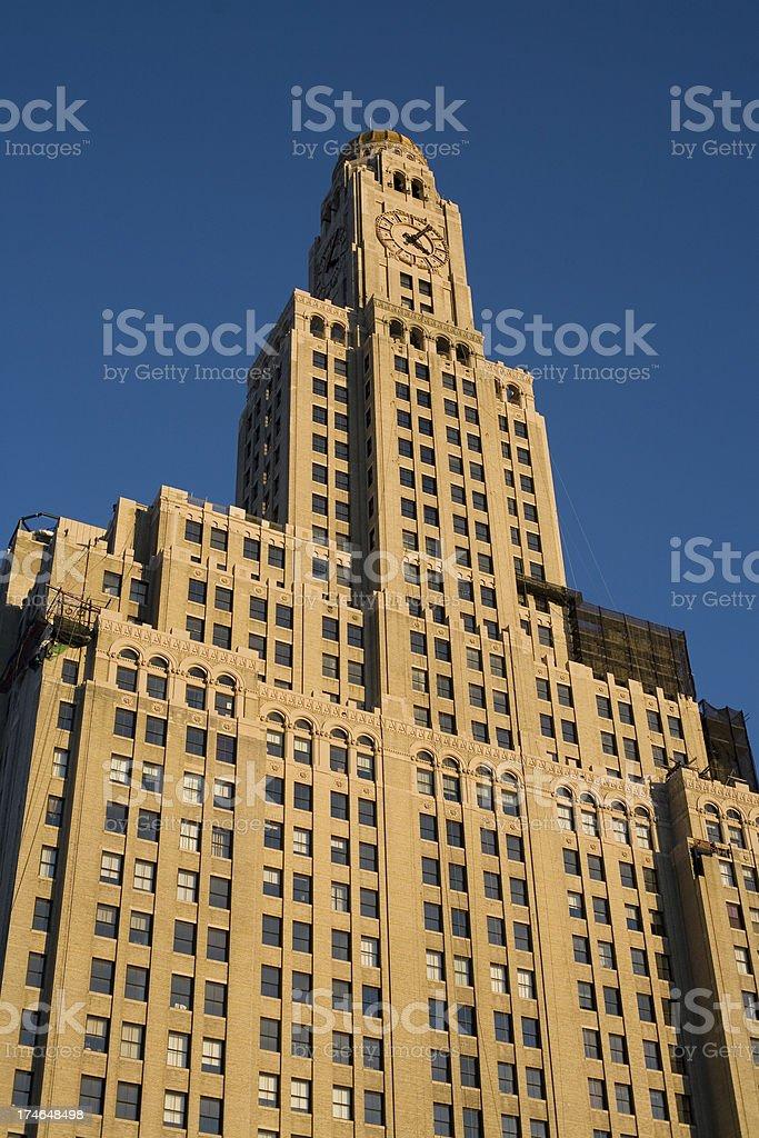 WIlliamsburg Bank Building, Brooklyn royalty-free stock photo