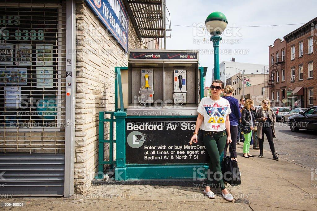 Williamsburg Brooklyn NYC stock photo