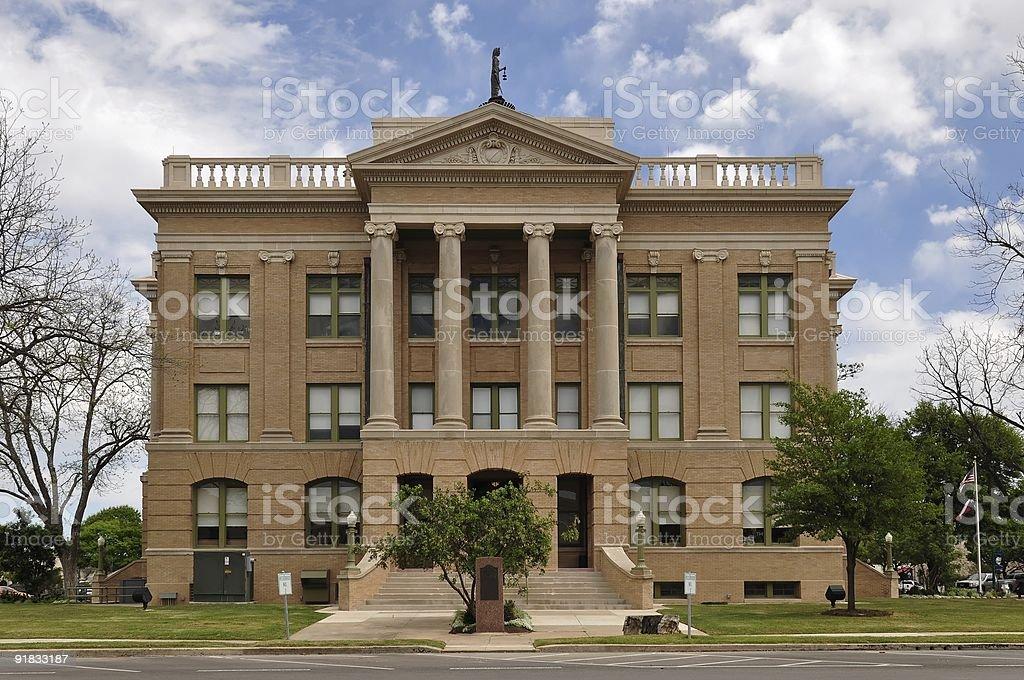Williamson County Courthouse stock photo