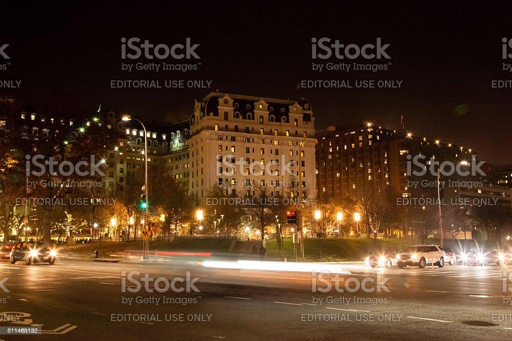 Williard Intercontinental stock photo