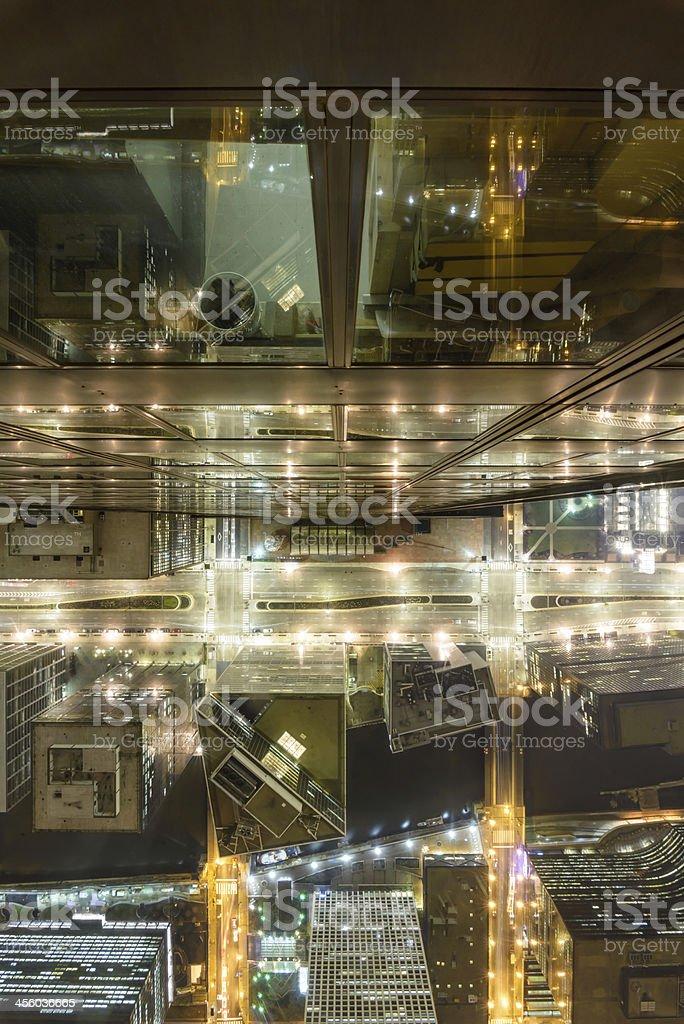 Willis Tower Skydeck Ledge stock photo