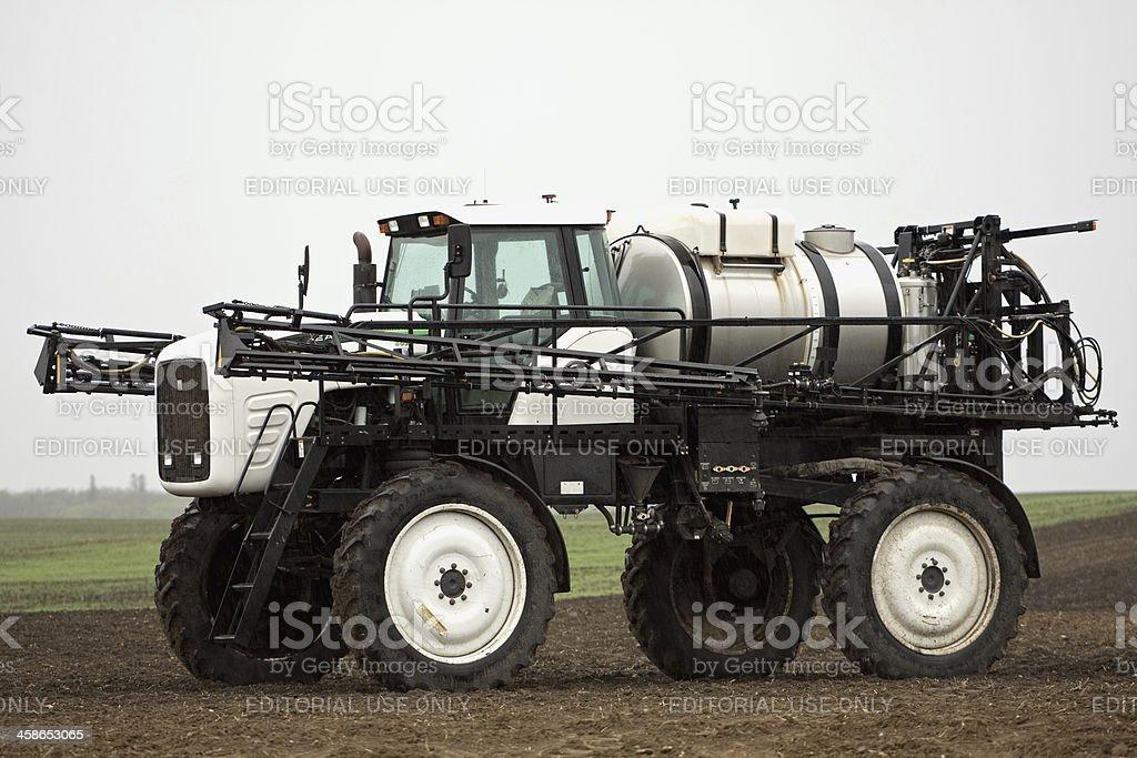 Willmar Eagle Crop Sprayer in Field royalty-free stock photo
