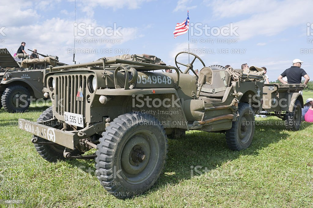 Willy Jeep royalty-free stock photo
