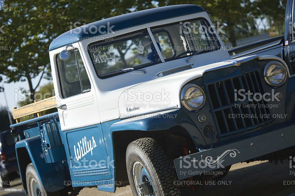 Willys Jeep Truck stock photo