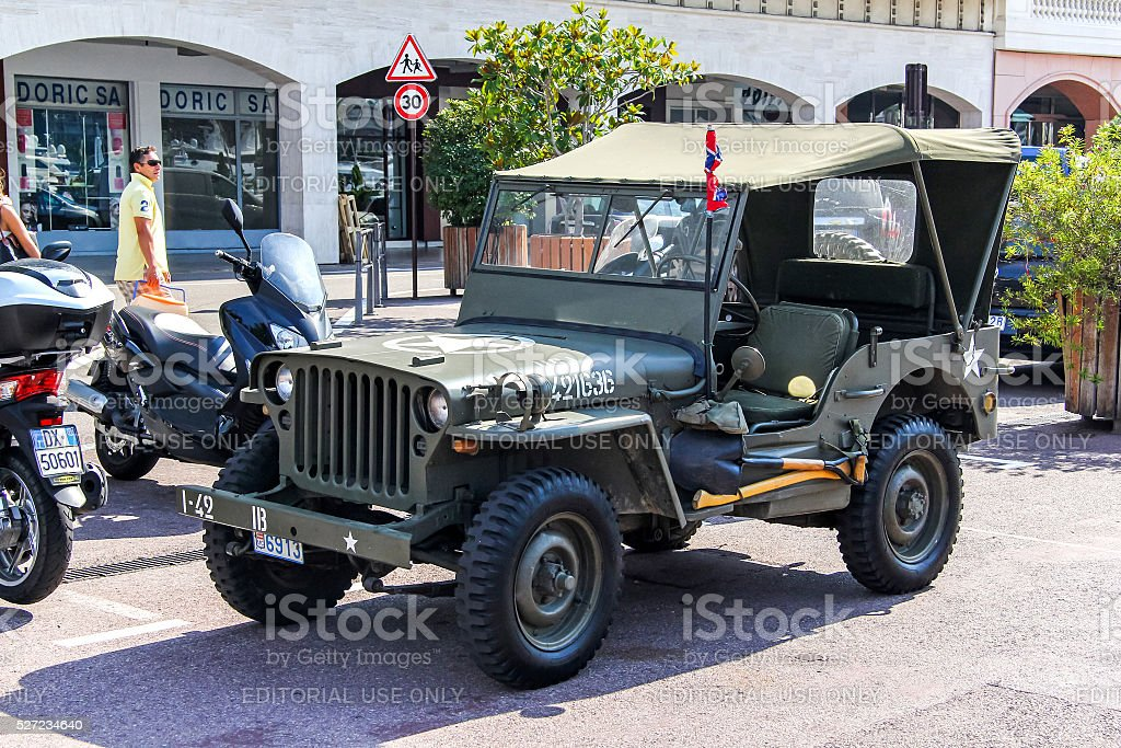 Willys MB stock photo