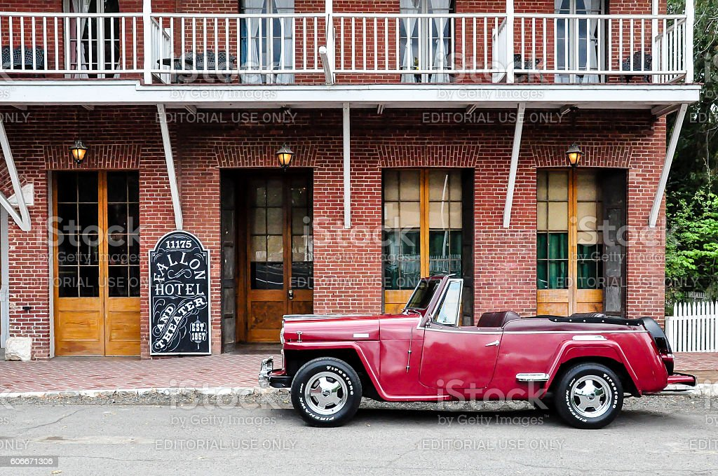 Willys Overland VJ2 Jeepster stock photo