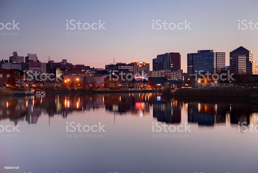 Wilmington Delaware royalty-free stock photo