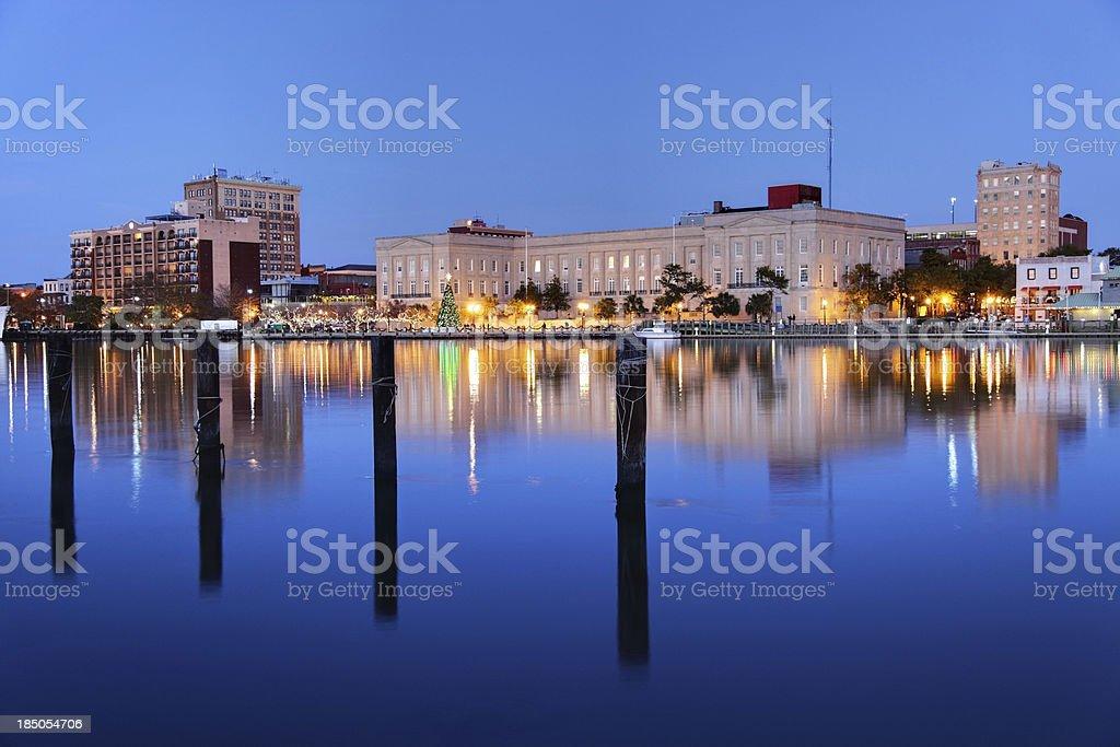 Wilmington, North Carolina royalty-free stock photo