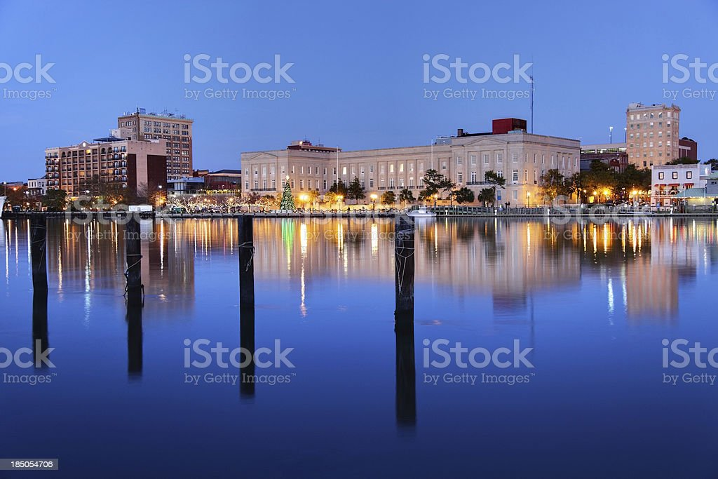 Wilmington, North Carolina stock photo