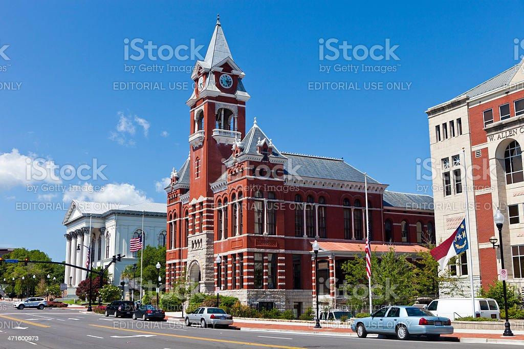 Wilmington, North Carolina, USA royalty-free stock photo