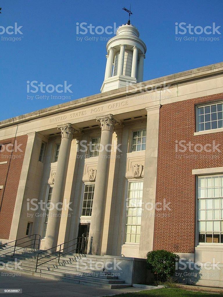 Wilmington Post Office stock photo