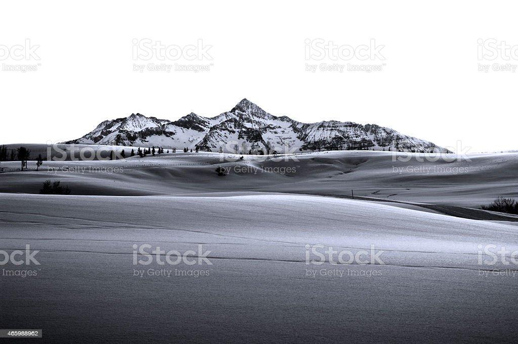 Wilson Peak royalty-free stock photo