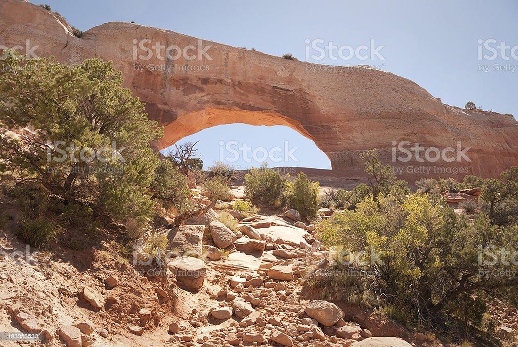 Wilson's Arch Landscape stock photo