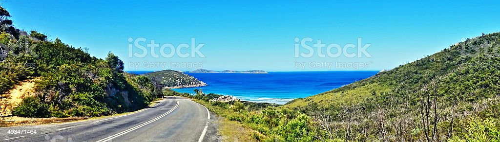 Wilsons Promontory National Park in Australia stock photo